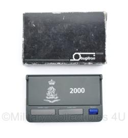 Defensie wekker 2000 - Bugitron - 11,5 x 7 cm - origineel