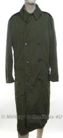 US Army mantel / regenjas groen - maat Medium - origineel