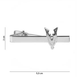 Veteranen dasspeld ZILVER - 2 x 5,5 cm