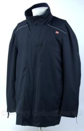 DB winterjas met voering en reflectie - donkerblauw - maat L - nieuw - origineel