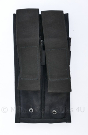 Nederlandse Kmar en Politie MP5 magazijntas double mag pouch - 20,5 x 10,5 x 3 cm - origineel