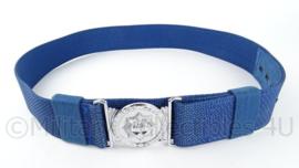 Korps Rijkspolitie koppel blauw - 110 cm - goede staat - origineel