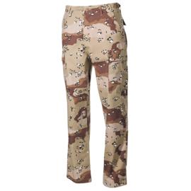 US Army BDU trouser Rip Stop desert golfoorlog - S tm. 3XL  - nieuw gemaakt