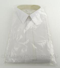 KLU Koninklijke Luchtmacht GLT gala overhemd WIT - lange mouw - maat 40-4 - nieuw in verpakking -  origineel