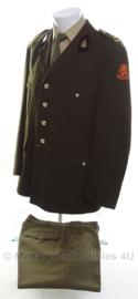KL DT uniform pak technische dienst - Majoor - maat 54 - origineel