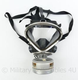 Brandweer gasmasker merk Drager - defecte hoofdband -  origineel