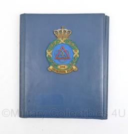 Documenten map LUOS Luchtmacht Officiersschool - 28 x 24 x 3 cm - origineel