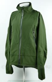 Korps Mariniers soft shell jas groen - maat XXLarge - ongedragen - origineel