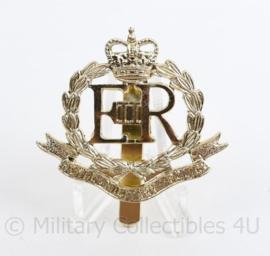 Britse leger naoorlogse pet insigne Royal Military Police - 5 x 4,5 cm - origineel