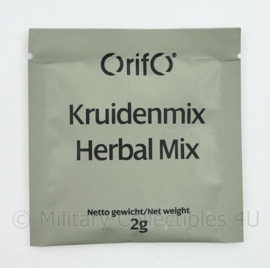 Rantsoen Orifo kruidenmix Herbal mix - 2 gram  -  THT 4-2022 of 5-2022