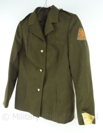 KL Landmacht dames DT uniform jas - model tot 2000 - maat 34 - origineel