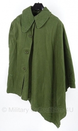 KL poncho en grondzeil groen - vorig model - origineel