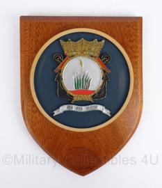 Korps Mariniers Kazerne Savaneta Aruba wandbord - origineel