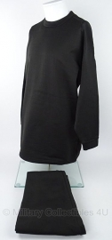 Partij van 60 sets en 30 losse broeken Thermo onderkleding - zwart - 100% polyester - maat 3XL en 4XL