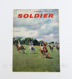 The British Army Magazine Soldier November 1959 - 30 x 22 cm - origineel