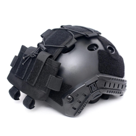 Tactical Night Vision contra weight & Battery pouch voor MICH helm - BLACK
