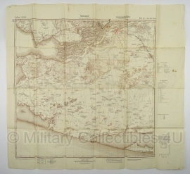 Duitse stafkaart Sonderausgabe 1940 - Chersson L-36-VIII West -  98 x 89 cm.! - schaal 1:100000 - origineel