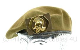 Nederlandse Leger Genie DT baret met insigne 1964  Maat 57 - Origineel