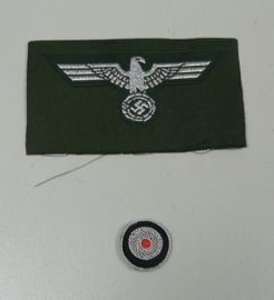 Officiers schuitje insigne set