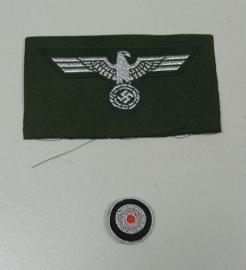 Officiers schuitje insigne set