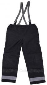 Brandweer donkerblauwe LOSSE broek  - ook voor groepen - LARGE - origineel