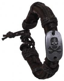 Armband met doodskop
