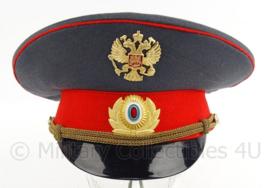 Russische politie officiers pet - maat 60 - origineel