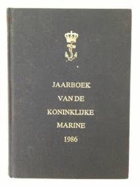 Jaarboek Koninklijke Marine 1986 - hardcover - origineel
