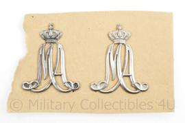 Koninklijke Luchtmacht MA Militaire Academie MVO schouder spelden - origineel