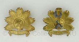 KL schouderstuk insigne set - Regiment infanterie Oranje Gelderland - origineel