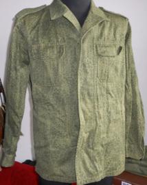 Puma camouflage uniform jas wz. 89 - lengte 184 cm. Borstomtrek 116 cm.  -  origineel