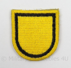 US Army Special Forces baret insigne 1st SFGA flash patch - afmeting 5 x 6 cm - origineel
