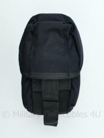 Nederlandse Politie en KMAR MOLLE tas Snigel Design zwart - 15 x 9 x 9 cm - NIEUW - origineel