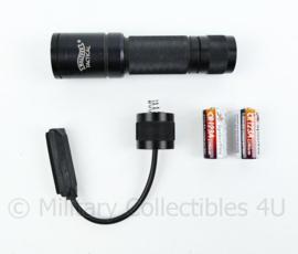 Walther tactical zaklamp - werkend getest -  met nieuwe batterijen en extra bedienknop met extra achterkant - origineel