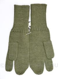 MVO en vroeg KL trigger gloves wanten - nieuw met kaartje van MITIN er nog aan - 20,5 cm - origineel