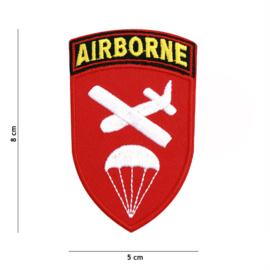Embleem stof Airborne Command - 8 x 5 cm