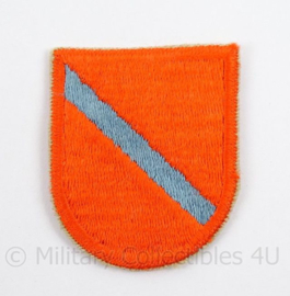 US Army Special Forces baret insigne 22nd SFAD flash patch - afmeting 5 x 6 cm - origineel