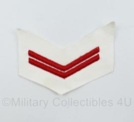 Koninklijke Marine rang - 10,5 x 8 cm - origineel