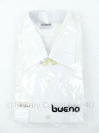 Koninklijke Marine - wit DT- overhemd  lange mouw - maker Bueno - maat 39 - nieuw in verpakking ! - origineel