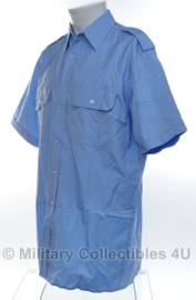 Kmar Koninklijke Marechaussee overhemd lichtblauw - korte mouw - gebruikt - maat 37 - origineel