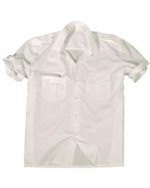 Overhemd korte mouw WIT
