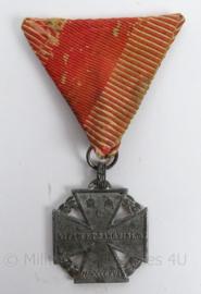 WO1 Oostenrijks-Hongaarse Karl Truppenkreuz 1916 medaille - antiek - Princeps et Patria - origineel