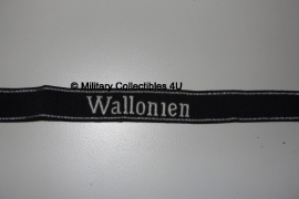 SS cufftitle Wallonien - 28e SS Freiwilligen Panzergrenadier Division