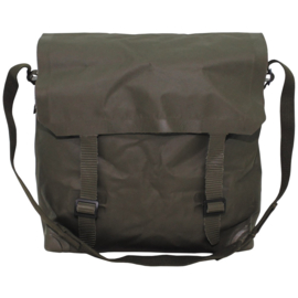 Nederlands leger pukkel ransel OD groen Largepack Large pack RUBBERIZED - 34 x 13 x 30 cm - origineel