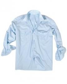 Overhemd lange mouw LICHTBLAUW - nieuw gemaakt