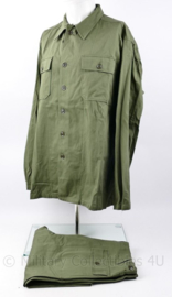 US Army replica Vietnam oorlog Kay Clothing US Army OG 107 suit Mans Cotton - X-Large - replica