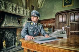 Fotoshoot gehad in een verlaten gouverneurshuis in Antwerpen