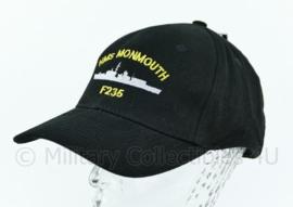 Britisch Royal navy cap HMS Monmouth F235 - Nieuw! -one size- origineel