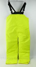 Britse Politie high visability gevoerde broek met bretels TOPSTAAT - Weathermac - Medium - origineel