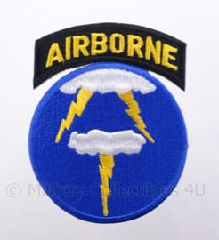 US 21st Airborne Ghost Division embleem - afmeting 6 x 9 cm - replica WO2
